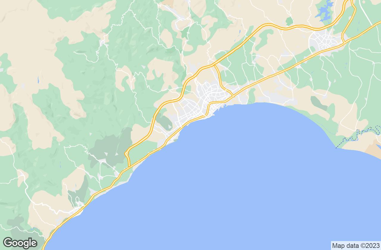 Google Map of مرسين