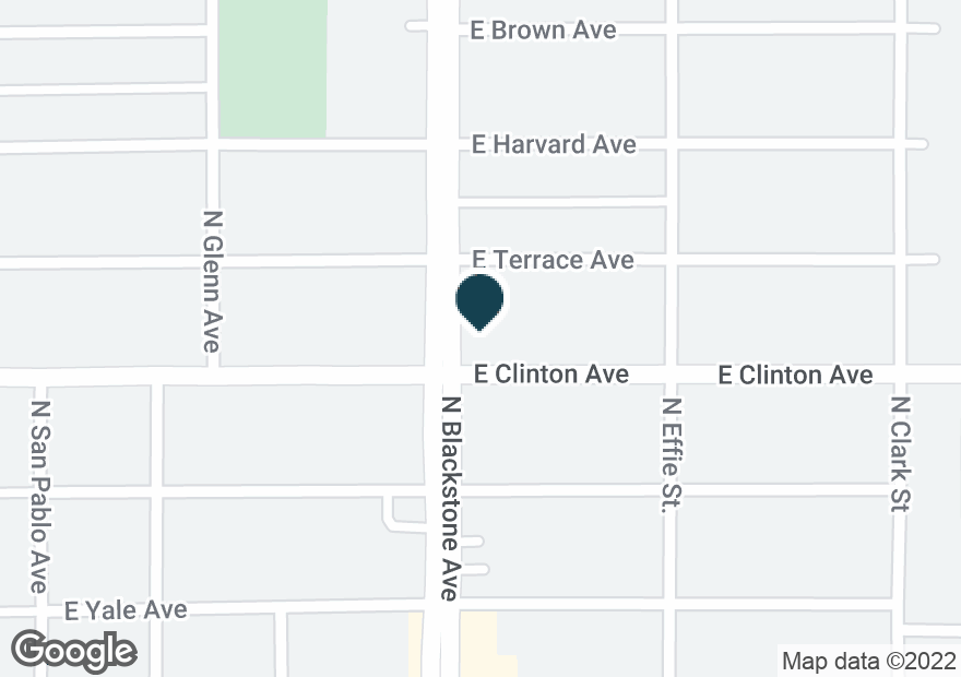 Google Map of2420 N BLACKSTONE AVE