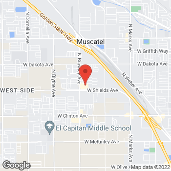 Map of Check `n Go Shields Avenue at 3742 West Shields Avenue, Fresno, CA 93722