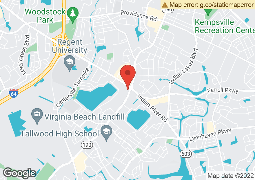Google Map of 5305 INDIAN RIVER RD