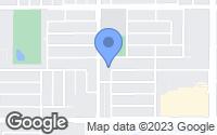 Map of Fresno, CA