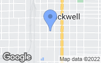 Map of Blackwell, OK