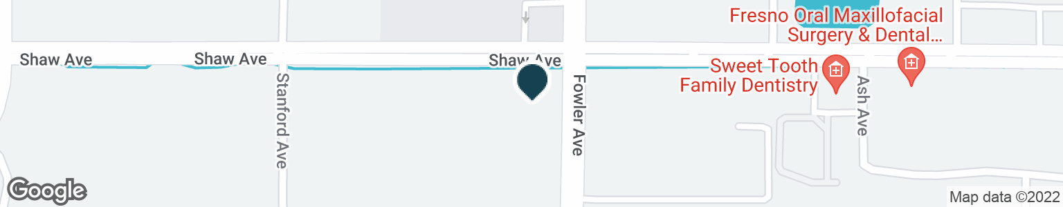 Google Map of1790 SHAW AVE
