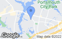 Map of Portsmouth, VA