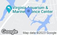 Map of Virginia Beach, VA