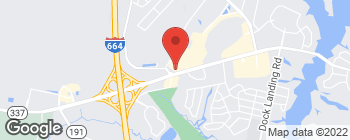 Map of 4416 Portsmouth Blvd in Chesapeake