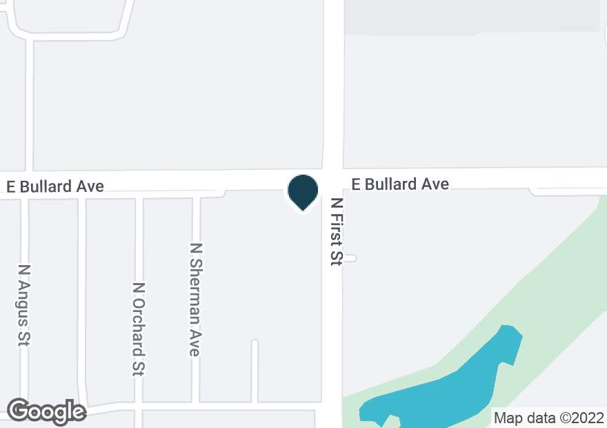 Google Map of5785 N 1ST ST