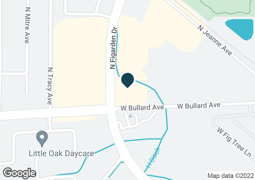 Google Map of6010 N FIGARDEN DR