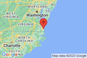Map of Virginia Beach Area