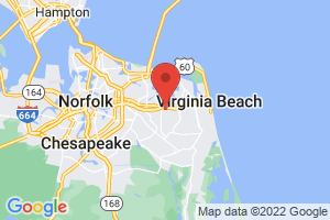 Map of Virginia Beach