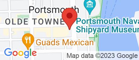 Branch Location Map - BB&T, Crawford Street Branch, 500 Crawford Street, Portsmouth VA