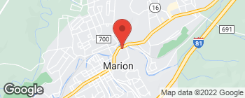 Map of 534 N Main St in Marion