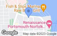 Map of Portsmouth, VA