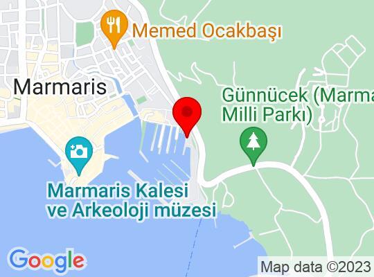 Google Map of Marmaris