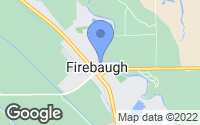 Map of Firebaugh, CA