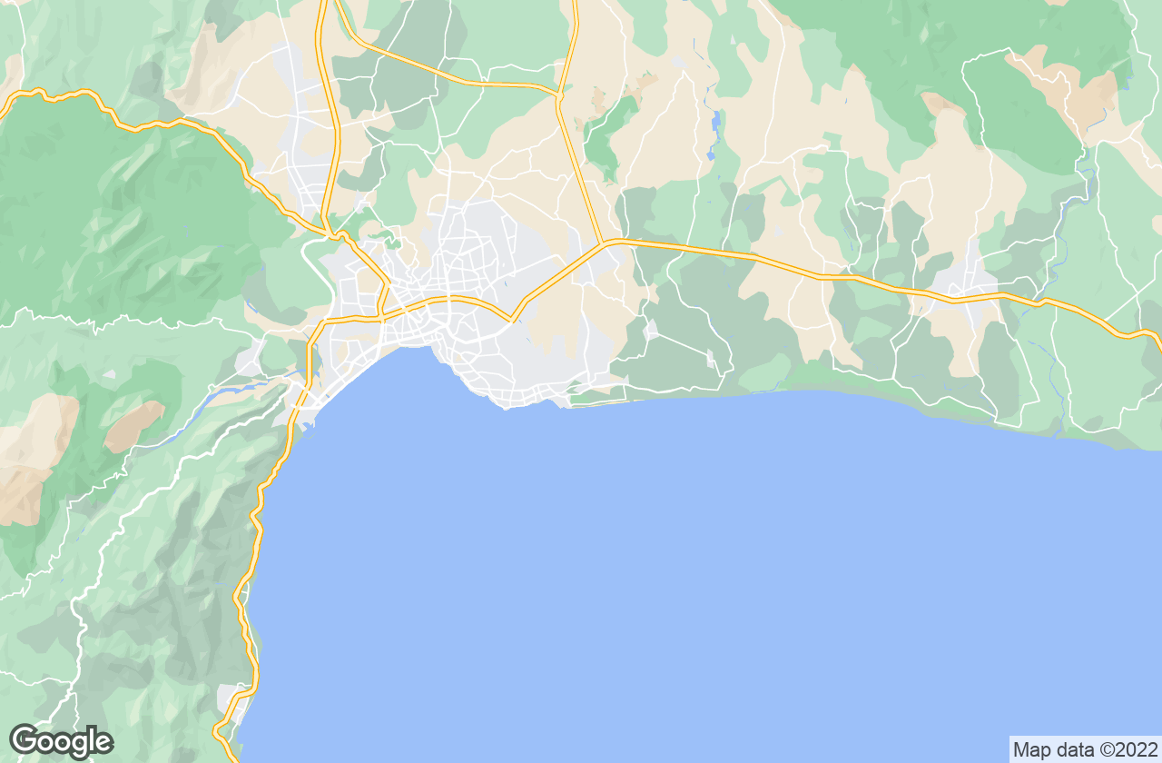 Google Map of أنطاليا