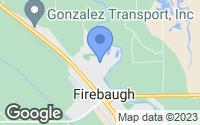 Map of Firebaugh, CA