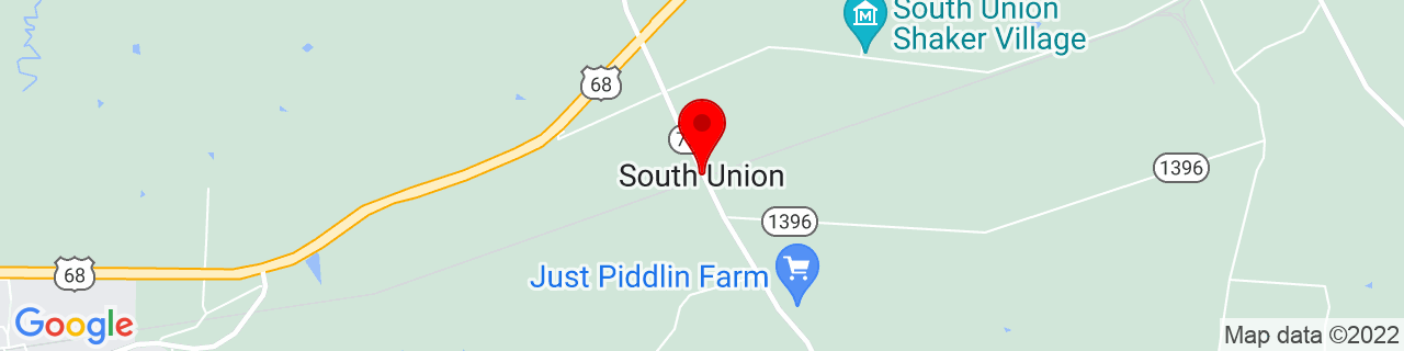 Google Map of 36.8764307, -86.6563839