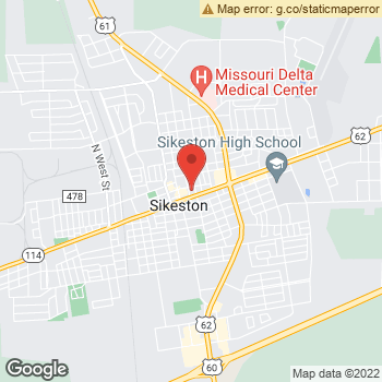 Map of Terminix at 123 N Ranney, Sikeston, MO 63801
