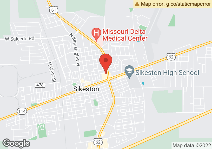 Google Map of 299 N MAIN ST