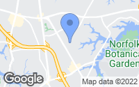 Map of Norfolk, VA