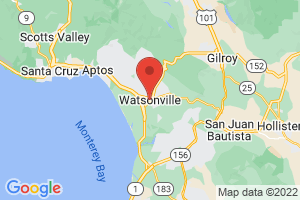 Map of Watsonville