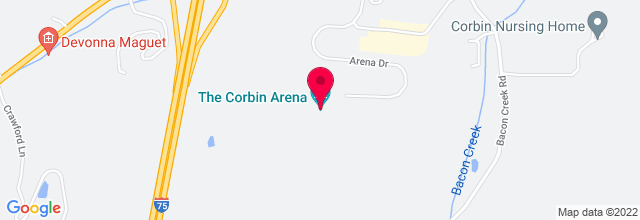 Map for Corbin Arena