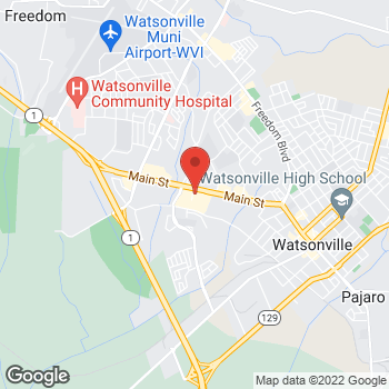 Map of Check `n Go at 1441 Main Street, Watsonville, CA 95076