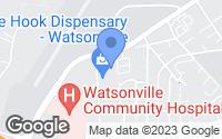 Map of Watsonville, CA