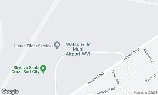 Map of Ella's At The Airport at 100 Aviation Way Watsonville, CA