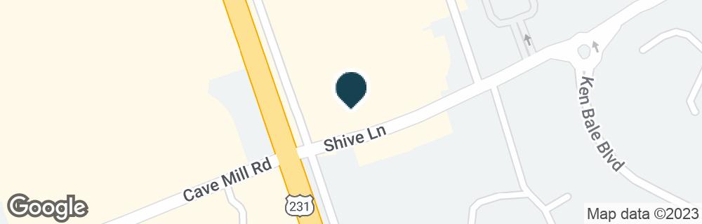 Google Map of2824 SCOTTSVILLE RD