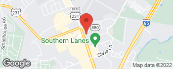 Map of 2508 Scottsville Rd in Bowling Green