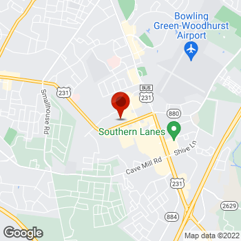 Map of Staples® Print & Marketing Services at 1680 Campbell Ln, Bowling Green, KY 42104