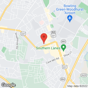 Map of Staples at 1680 Campbell Ln, Bowling Green, KY 42104