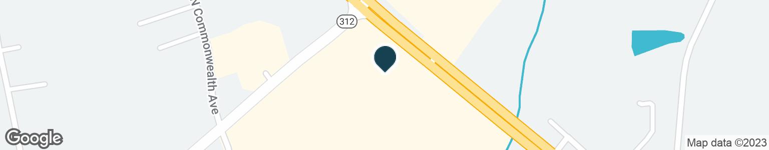 Google Map of14659 N US HWY 25 E