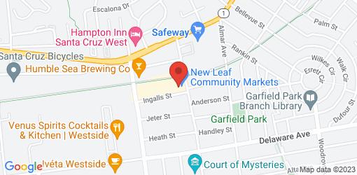 Directions to New Leaf Community Markets - Westside Santa Cruz
