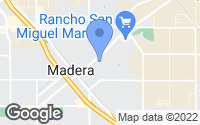 Map of Madera, CA
