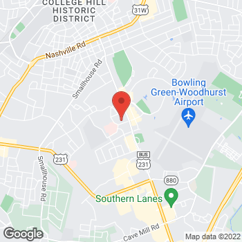 Map of Tuesday Morning at 1751 Scottsville Road, Bowling Green, KY 42104