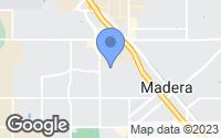 Map of Madera, CA