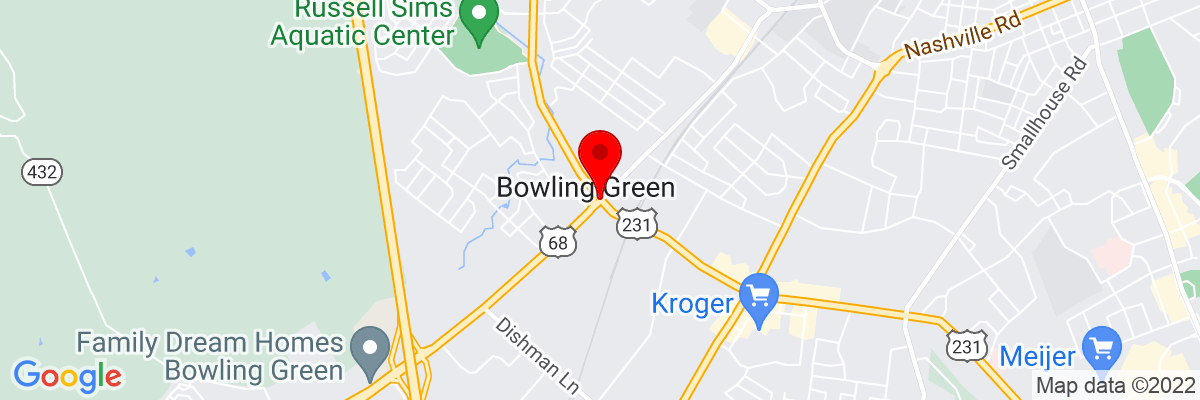 Google Map of 36.968521944444,-86.480804166667