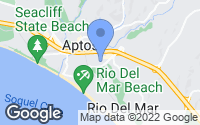 Map of Rio del Mar, CA