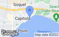 Map of Capitola, CA