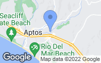 Map of Aptos, CA