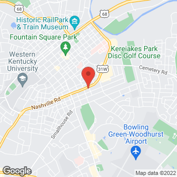 Map of Arby's at 904 Us 31W Byp, Bowling Green, KY 42101-2316