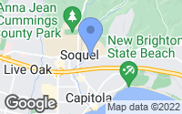 Map of Soquel, CA