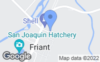 Map of Friant, CA