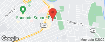 Map of 1115 Fairview Ave in Bowling Green