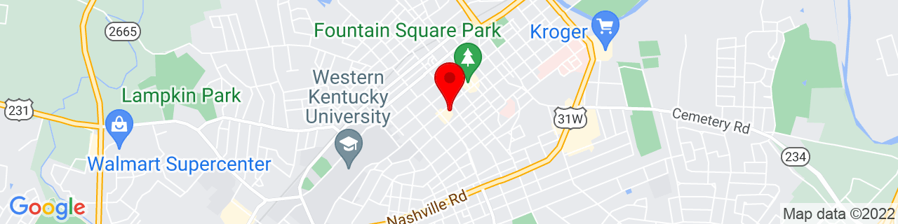Google Map of 36.99027777777778, -86.44361111111111