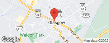 Map of 103 W Public Square in Glasgow