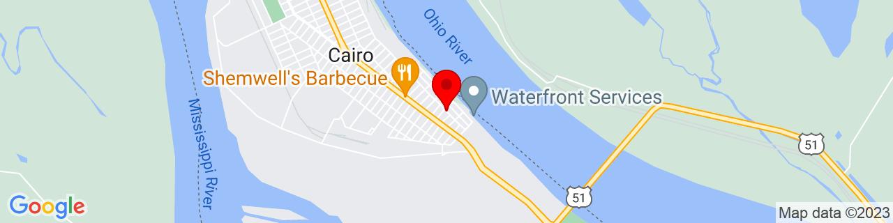 Google Map of 36.9998079, -89.1646646